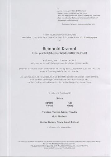 Dkfm. Reinhold Krampl