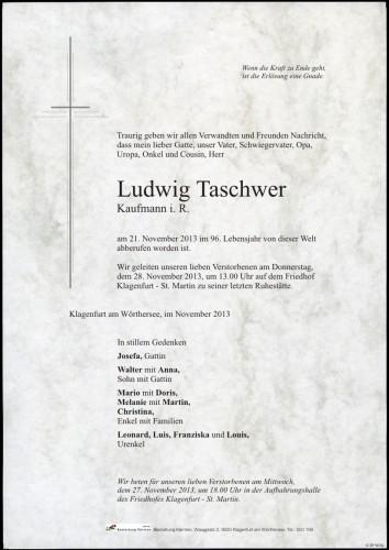 Ludwig Taschwer