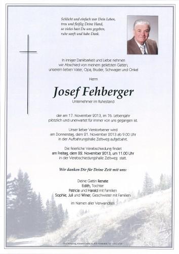 Josef Fehberger