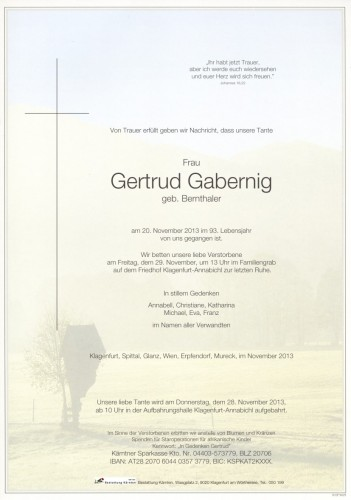 Gertrud Gabernig