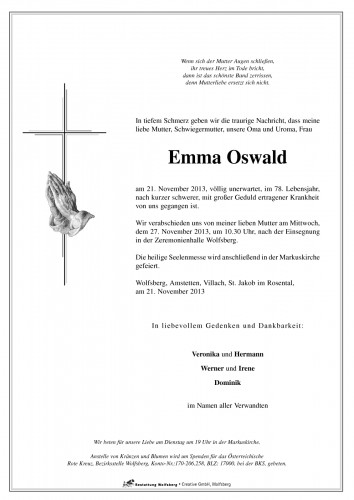 Oswald Emma