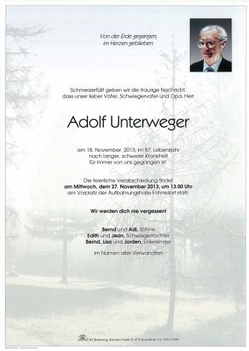 Adolf Unterweger