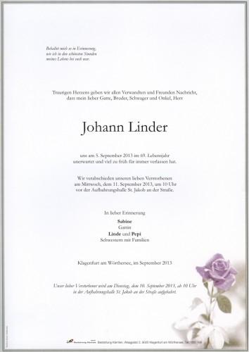Johann Linder