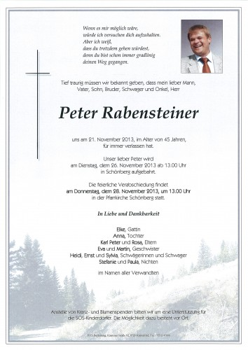 Peter Rabensteiner