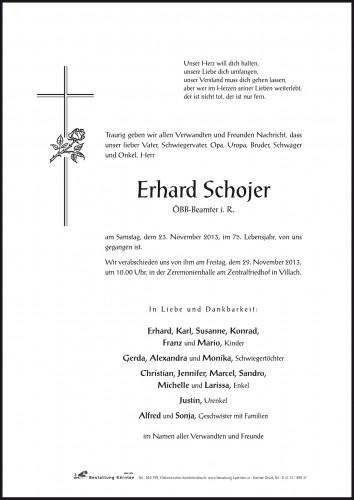 Erhard Schojer