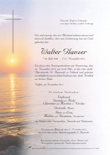 Walter Glanzer