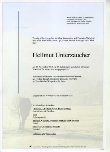 Hellmut Unterzaucher