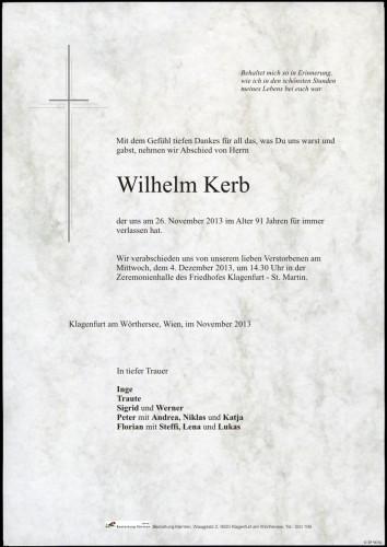 Wilhelm Kerb