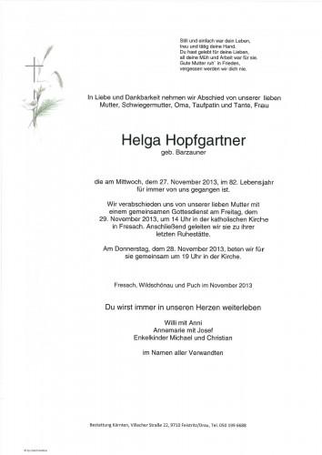 Helga Hopfgartner