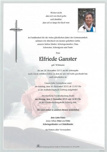 Elfriede Ganster