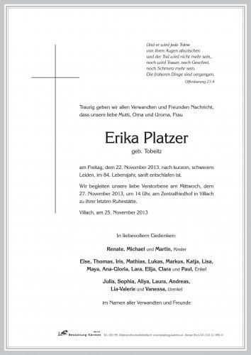 Erika Platzer