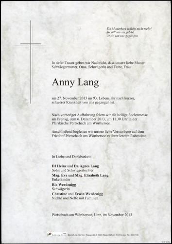 Anna Maria Lang