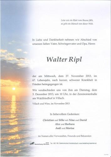 Walter Ripl