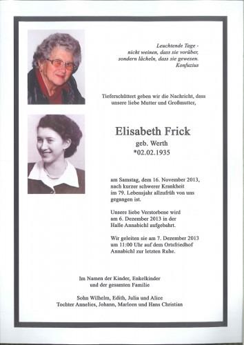 Elisabeth Frick