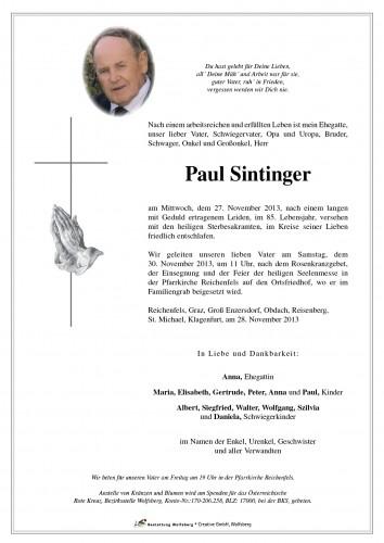 Paul Sintinger