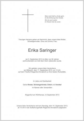 Erika Saringer
