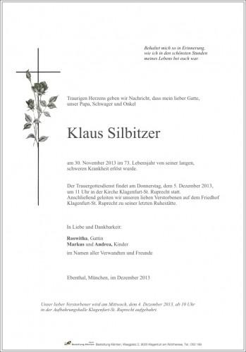 Klaus Silbitzer
