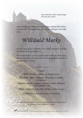 Willibald Marko