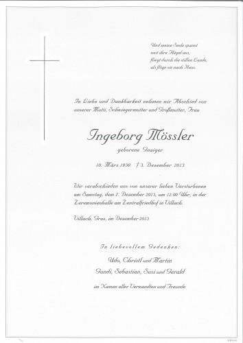 Ingeborg Mössler