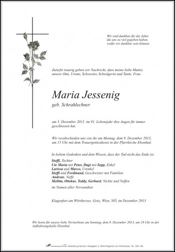 Maria Magdalena Jessenig