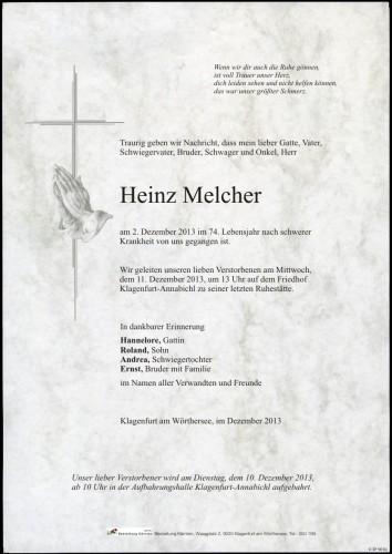 Heinz Melcher