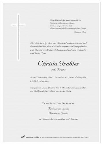 Christine Grabler