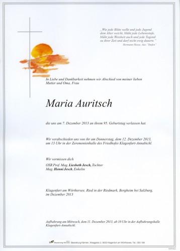 Maria Auritsch