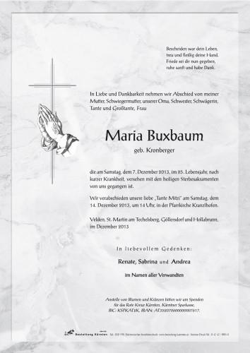 Maria Buxbaum