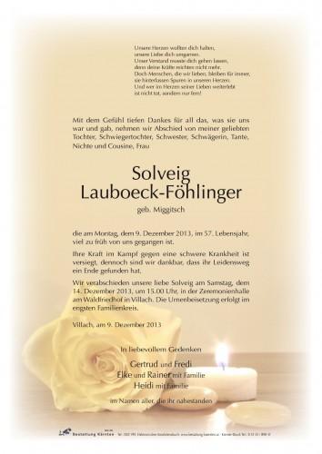 Solveig Lauboeck-Föhlinger