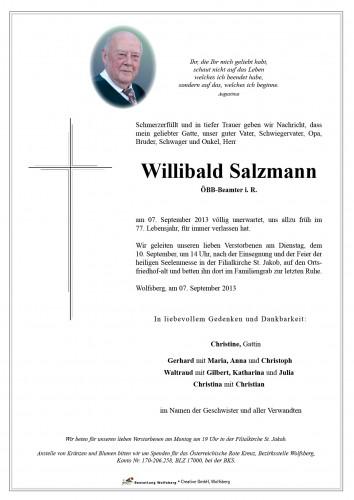 Willibald Salzmann