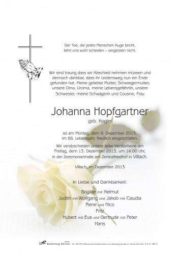Johanna Hopfgartner
