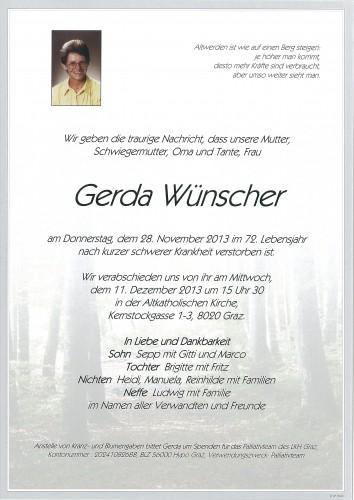 Gerda Wünscher
