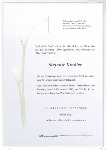 Stefanie Kindler