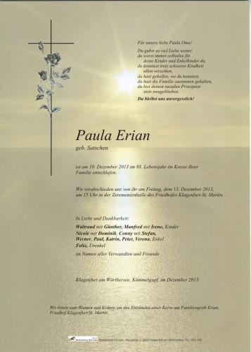 Paula Erian