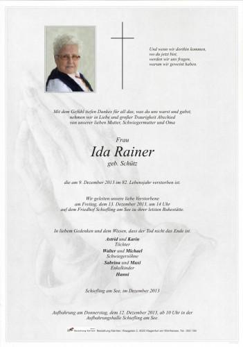 Ida Rainer