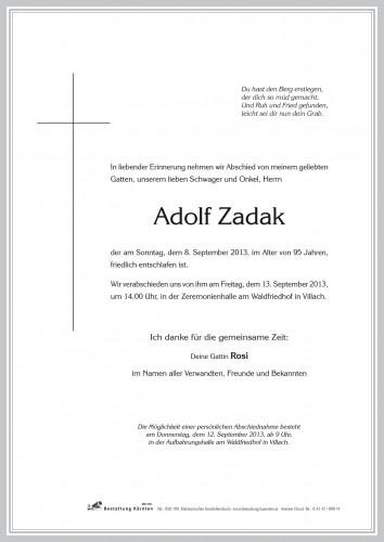 Adolf Zadak