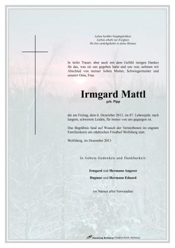 Irmgard Mattl