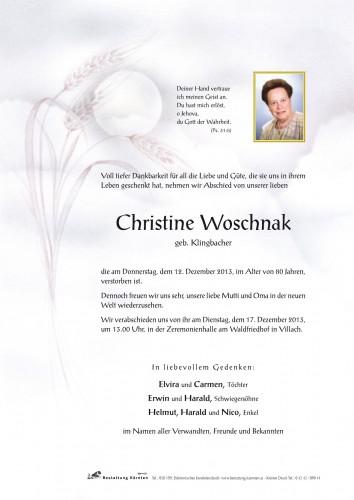 Christine Woschnak