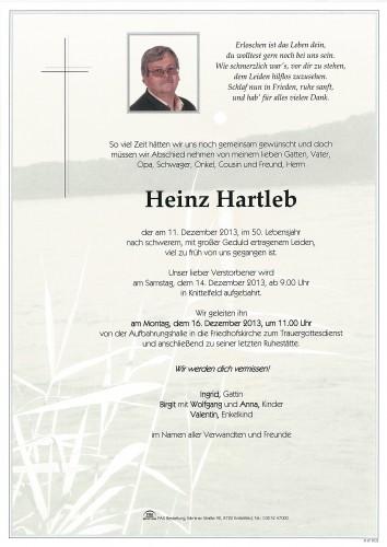 Heinz Hartleb