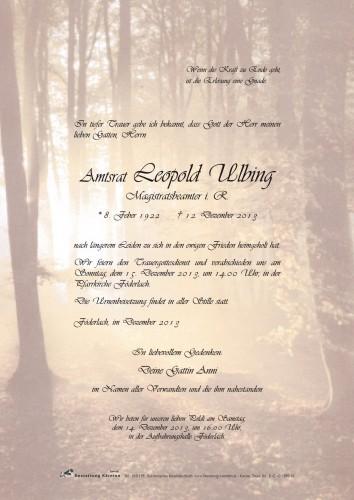 Leopold Ulbing