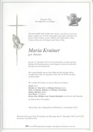 Maria Krainer