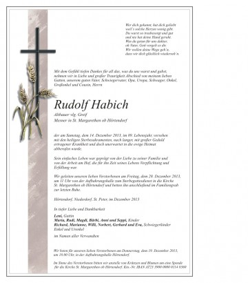 Rudolf Habich