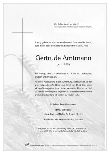 Gertrude Amtmann