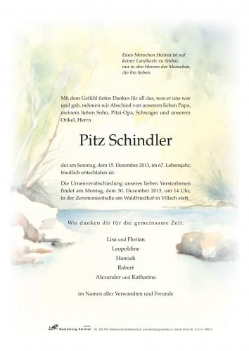 Pitz Schindler