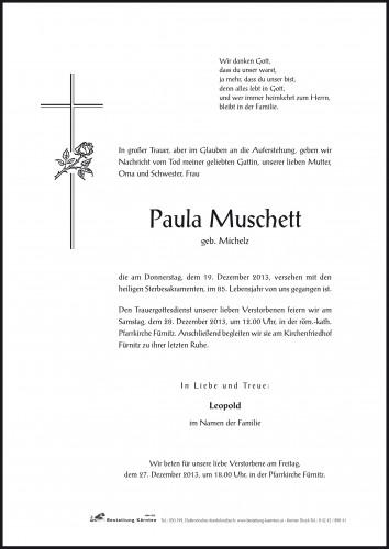 Paula Muschett