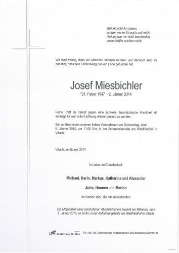 Josef Miesbichler
