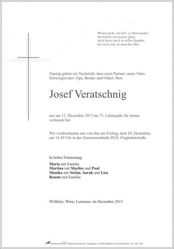 Josef Veratschnig