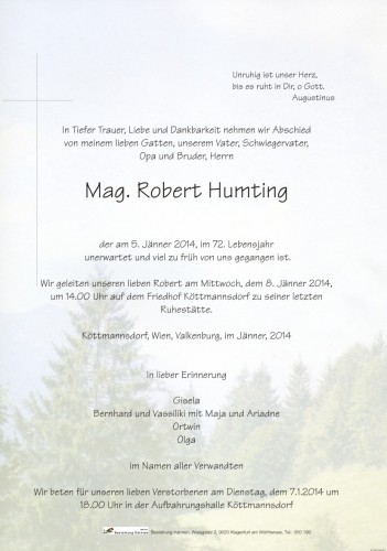 Mag. Robert Humting