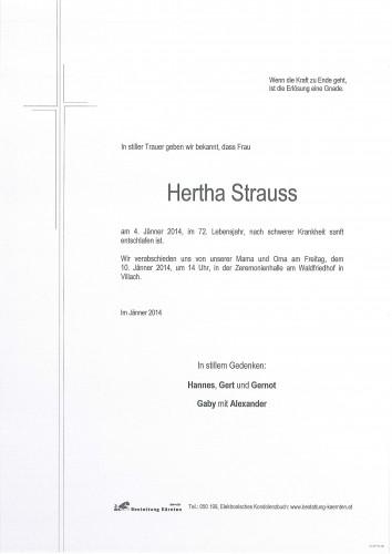 Hertha Strauss