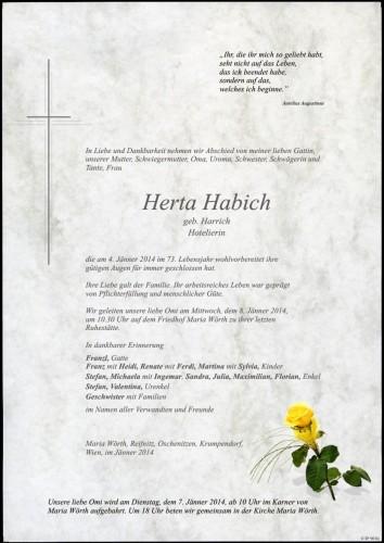 Herta Habich